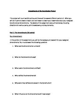 Constitutional Amendments Project