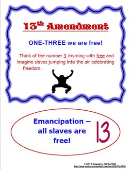 THE BILL OF RIGHTS AND AMENDMENTS TO THE CONSTITUTION BUNDLE