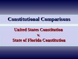 Constitutional Comparisons - US & State of Florida Constitutions