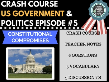 Constitutional Compromises: Crash Course Government and Politics #5