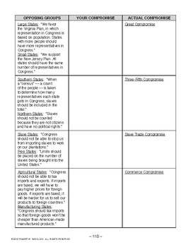 Constitutional Convention, AMERICAN GOVERNMENT LESSON 11 of 105, Activity & Quiz