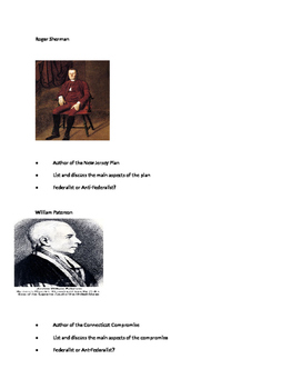 Constitutional Convention Cooperative Learning Activity