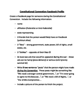 Constitutional Convention Facebook Page