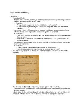 Constitutional Convention Lesson
