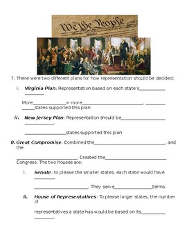 Constitutional Convention Notes.
