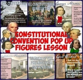 "Constitutional Convention Pop-Up Figures ""Rise of Democrac"