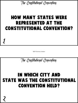 Constitutional Convention (Read The Room)