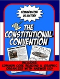 Constitutional Convention Reading, Graphic Organizer & Storyboard Activity