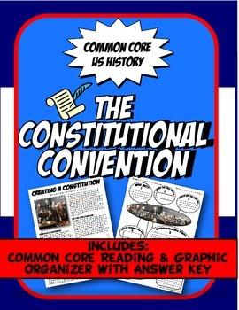 Constitutional Convention Reading, Graphic Organizer & Sto