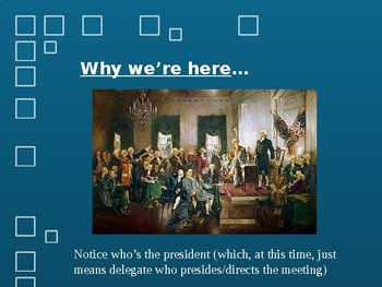 Constitutional Convention Simulation Day 1 PowerPoint