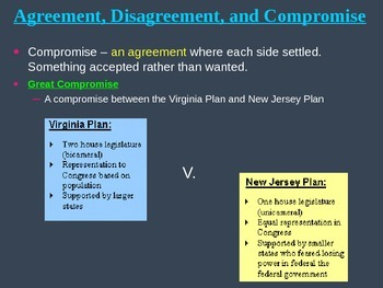 US History 8 Constitutional Convention & US Constitution PowerPoint