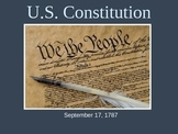 US History 8 Constitutional Convention & US Constitution P