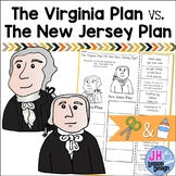 Constitutional Convention: Virginia Plan vs New Jersey Plan : Cut and Paste Sort