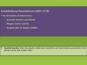 1. Constitutional Foundations - Lesson 2 of 8 - Evolution of Democracy