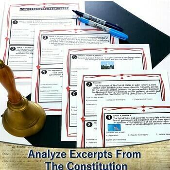 Constitutional Principles Handout