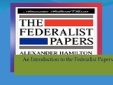 Constitutional Ratification and the Federalist Papers