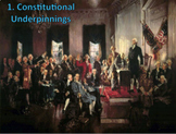 Constitutional Underpinnings (AP Government) BUNDLE with Video