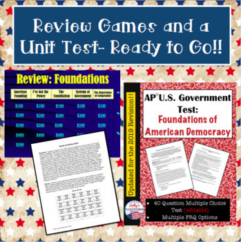 Constitutional Underpinnings BUNDLE for AP® U.S. Government