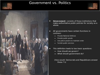 Constitutional Underpinnings Session 1: Introduction to Government