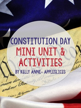 Constitutuion Day Lessons & Activities