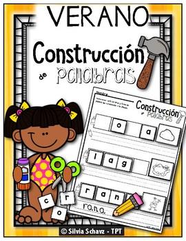 Construcción de palabras - Verano