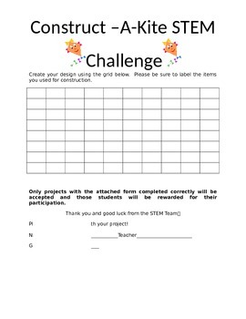 Construct-A-Kite STEM Challenge