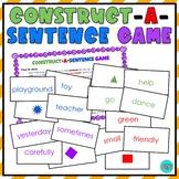 Construct A Sentence Game