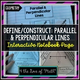 Construct Parallel Lines and Perpendicular Bisectors Inter