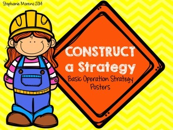 Construct a Strategy - Basic Operation Posters Add Subtrac