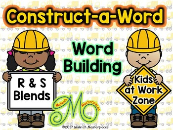 Construct-a-Word – Word Building with S and R blends - Interactive PowerPoint