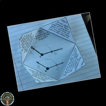Construct an Equivalent Angle Interactive Notebook Page
