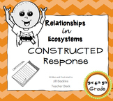 Constructed Response Assessment Relationships in Ecosystem Set 1