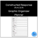 Constructed Response Paragraph Graphic Organizer (R.A.C.E.R. Strategy)