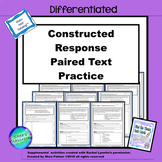 Constructed Response With Text Evidence: Paired Text Practice