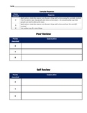 Constructed Response Peer/Self Review Rubric GA Milestones