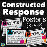 Constructed Response Posters RAP for Written Responses