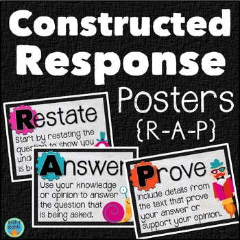 Constructed Response Posters RAP