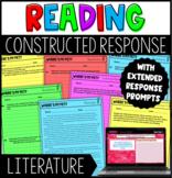 Constructed Response Tasks with Digital Google Slides Version - Literature