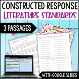 Constructed Response  {Literature Set}