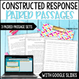 Constructed Response  {Paired Passages Set}