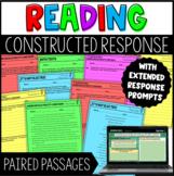 Constructed Response Tasks with Digital Google Slides - Pa