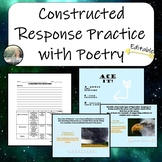 Constructed Response Practice with Poetry