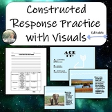 Constructed Response - Practice with Visual Texts