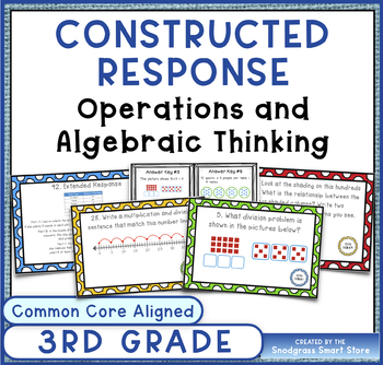 Common Core Constructed Response Problems-3rd Operations/A