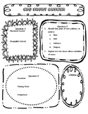 Constructed Response Question Organizers