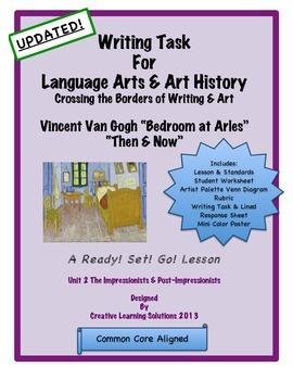 "Comparative & Descriptive Writing Task: Vincent Van Gogh """