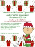 Constructed Response Questions & Graphic Organizer FREE: Christmas Edition