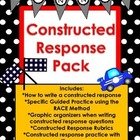 Constructed Response Questions Resource Pack Common Core Aligned