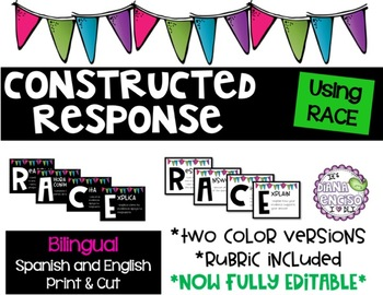 Constructed Response RACE Posters