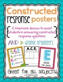 Constructed Response Strategy Posters